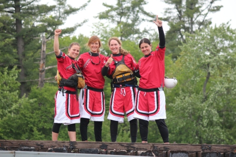 The 2013 R4 Canadian Champions! From L to R: Izabel, Kailee, Stef and Karine